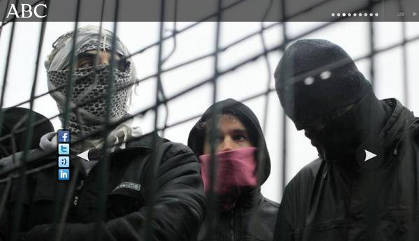 Xose Morais (@XoseMorais): Ojo a la foto que escoge ABC para ilustrar la huelga en educación. http://t.co/JgJS3UWTEa