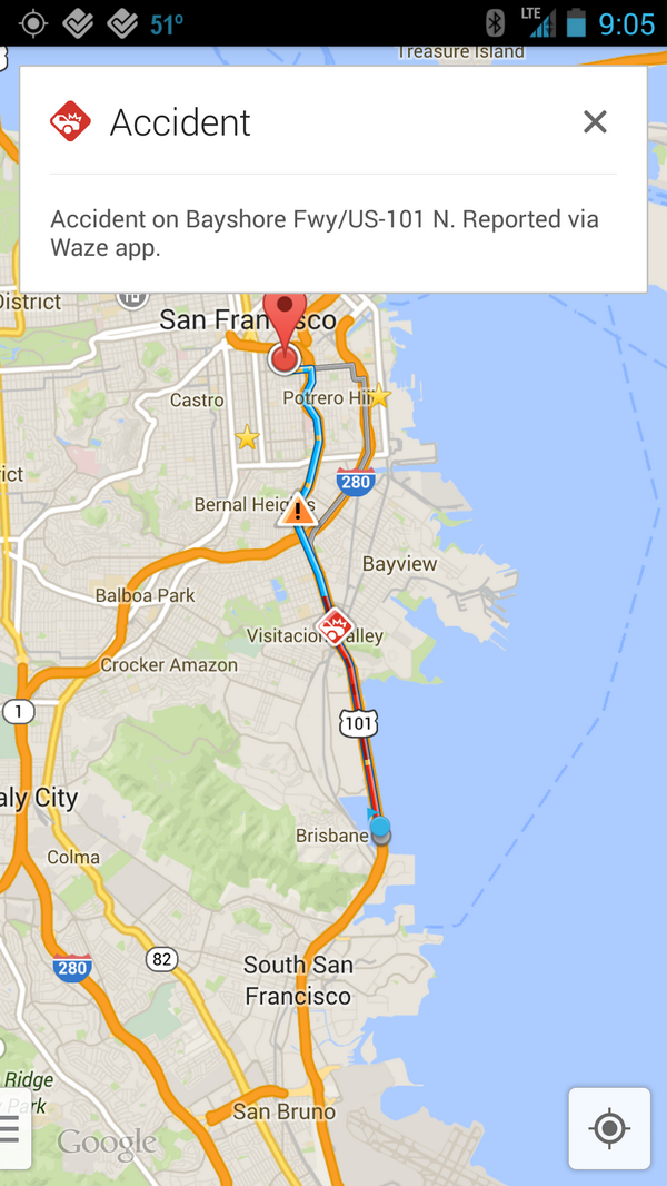 Waze Data Is Starting To Show Up In Google Maps - Google Maps Us 101