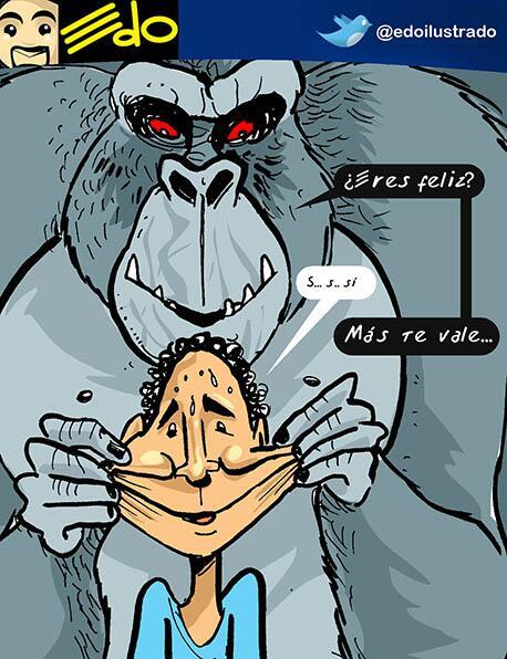 Caricatura EDO: Felicidad http://t.co/Y4TOfG14DM