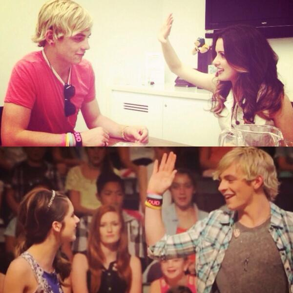 RT @goosepancake: Ross Lynch and Laura Marano: leaving each other hanging since 2013 http://t.co/lIDPSm6ylx