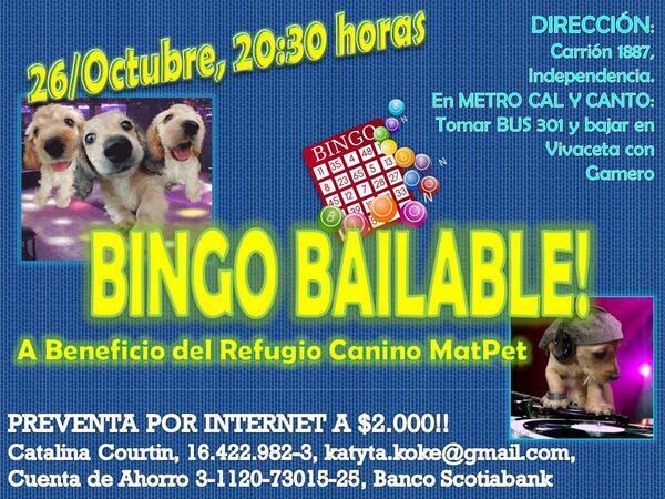 RT Difundir para Bingo de mañana un Regufio Canino,para muchos perritos q lo necesitan.♥ http://t.co/ai0VaNTe64'