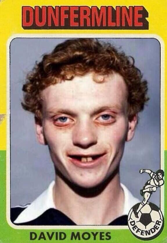 People saying that David Moyes is struggling at the moment. Well, he's struggled before. Sweet Jesus. http://t.co/1YESXSc7TW