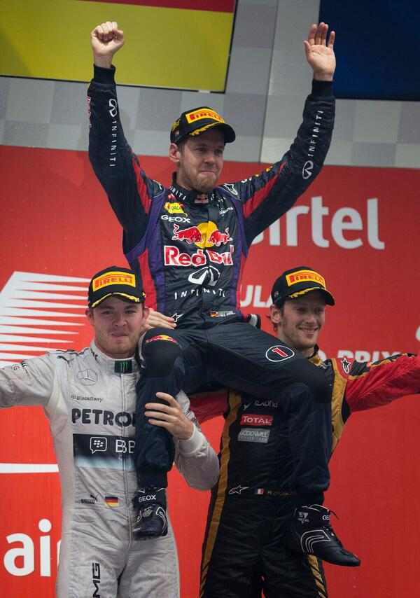 #F1 The Podium. http://t.co/9foROa257q