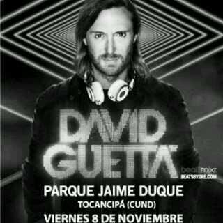 David Guetta se presentará en Bogotá el 8 de Noviembre  en el Parque Jaime Duque boletas en  @TicketExpressCo http://t.co/JQ7C5Drb8x