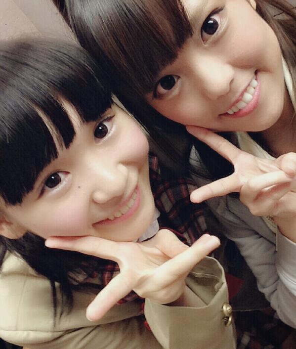 昨日桜木琴歌ちゃんと撮ったよおおお!!!♡♡可愛いすぎて辛い♡♡これでご飯三杯はいける(。・・。)♡ http://t.co/k5bpHyVDEZ