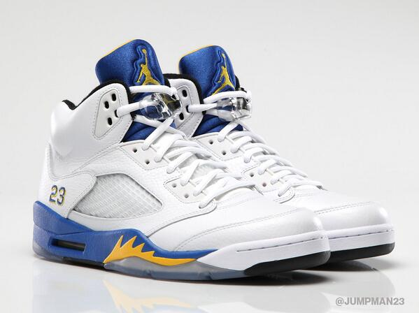 This Saturday, go back to where it all began for MJ with the 'Laney' Air Jordan 5 Retro: http://t.co/qA0kaT1JjB