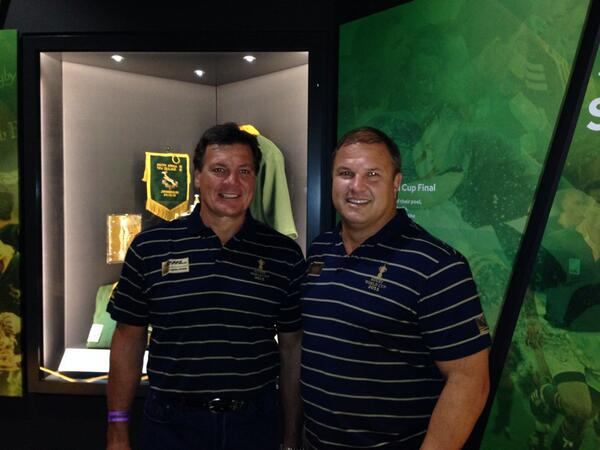 RT @stranners: At @bokrugby museum! Brilliantly done!! @DHLAfrica #WebbEllisCup show back on the road with the boys! http://t.co/YIhoUq6dNC