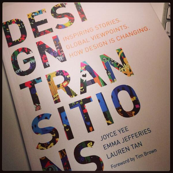 RT @ali_mcgill: Loving this book! Good to see both @wearesnook & @MikePress featured #designtransitions http://t.co/vM4nn3yoBq