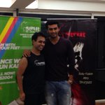 Strut Star Arjun Kapoor at the Strut finale with Strut guru @bhaavgandhi !!!