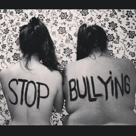 Help put an end to bullying. If you witness it, PLEASE speak up.