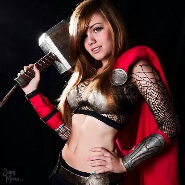 Thor est quand même plus sexy comme ça :3 http://t.co/T7YKEQP1yv