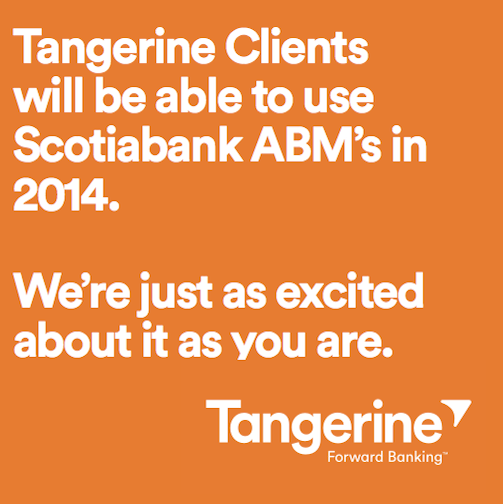 You asked and we listened. In 2014, our Clients will be able to use Scotiabank ABMs. http://t.co/80pJUk3Gec