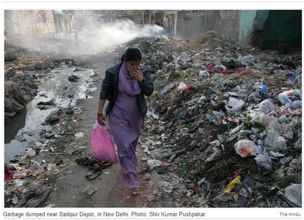 RT @asraghunath: Scene such as this in Delhi will be history. Elect #DrSahab4Delhi #Charcha #BJP4Delhi http://t.co/TDh5MUzNMu