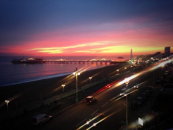 It's a beauty tonight @BrightonPier #sunset #brighton http://t.co/bMrFQMaWSx