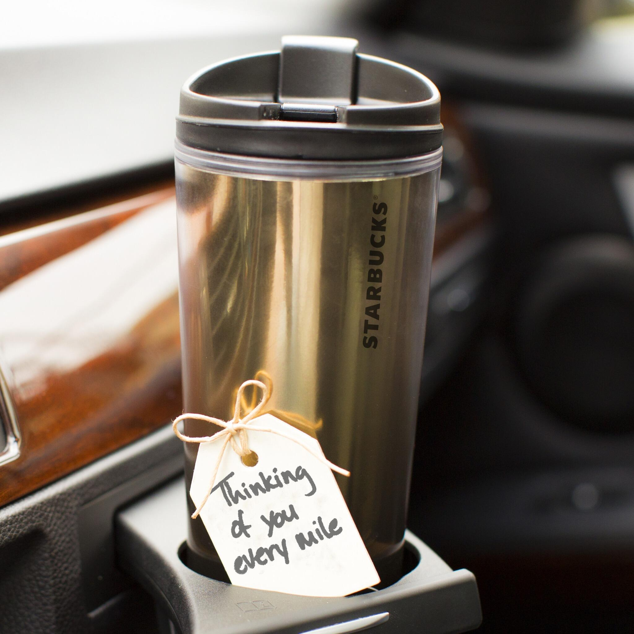 Some cheer for the commute! RT @StarbucksStore Acrylic & Stainless Steel Tumblers, 50% off thru 11/17 #holidaysavings http://t.co/DPnnseU92K