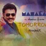 RT @VictoryVenki_FC: #VictoryVenkatesh #Masala from TOMORROW!!!!! RT @RanaDaggubati http://t.co/6NHCXEebLC