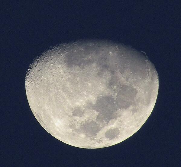 RT @adleon7: La Luna desde Baja California Sur, México http://t.co/1dpaI2ZFHE