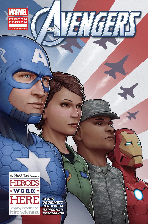 RT @DisneyInstitute: Here's a SNEAK PEEK of the Avengers-themed comic book that was custom-made for #DisneyVeteransInstitute by @Marvel http://t.co/Q97O0C2YKB