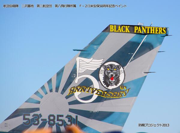 防韓プロジェクト2013  航空自衛隊三沢基地第三航空団第八飛行隊所属機 ...