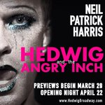 Ticket sales for @HedwigOnBway start today! Warning: sit up close and you may get wet. #inmorewaysthanone
