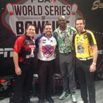 Nothin but the BEST PRO BOWLERS!! @pbatour #lovethelanes @jbelmo @bill_oneill @mike_fagan http://t.co/qn8o9PLecV
