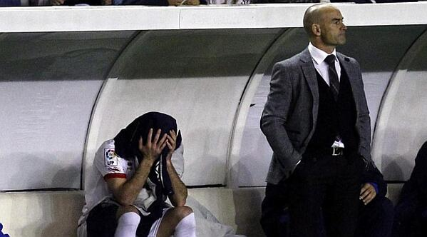 BYGmue1CMAEQtjo Gareth Bale tormented Rayos Anaitz Arbilla so badly the defender was left in tears after he was subbed