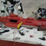 マイクチェックの時間だゴラァ!金剛型宇宙戦艦霧島ですね。ヤマト2199ぽい?