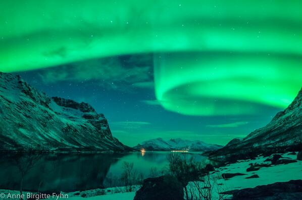 Andrea Butera (@AndreaButera): Um...WOW!!! MT @webcamsdemexico Northern lights from Tromso, Norway. on November 1, 2013 Anne Birgitte Fyhn http://t.co/rSatmxPAWa #foto