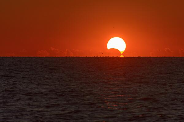 "Rick Reichmuth (@rickreichmuth): great shot!! ""@bruce29928: @rickreichmuth #eclipse from #hiltonheadsc http://t.co/E4xmGy85OX"""