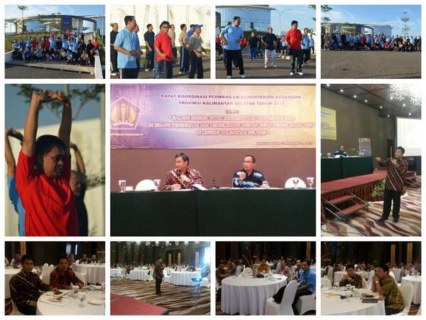 Rapat Koordinasi Perwakilan Kementerian Keuangan Prov. Kalsel 2013 @KemenkeuRI  @DitjenPajakRI @mekars @PajakMania http://t.co/NIM6aXqh18