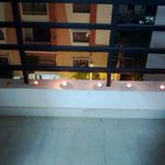 N so proud of my darling @shagunpannu to decorate our house so beautifully with diyas