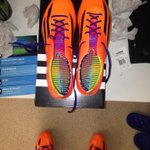 Thank you to @adidasUK for my new boots #f50 #letsgo http://t.co/IpT2HRmbqB