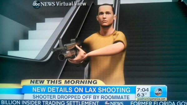 WRONG. @GMA @ABC there was NO grenade launcher on #LaxShooting rifle as you depicted in this morning's animation. http://t.co/K1xREHY7Is