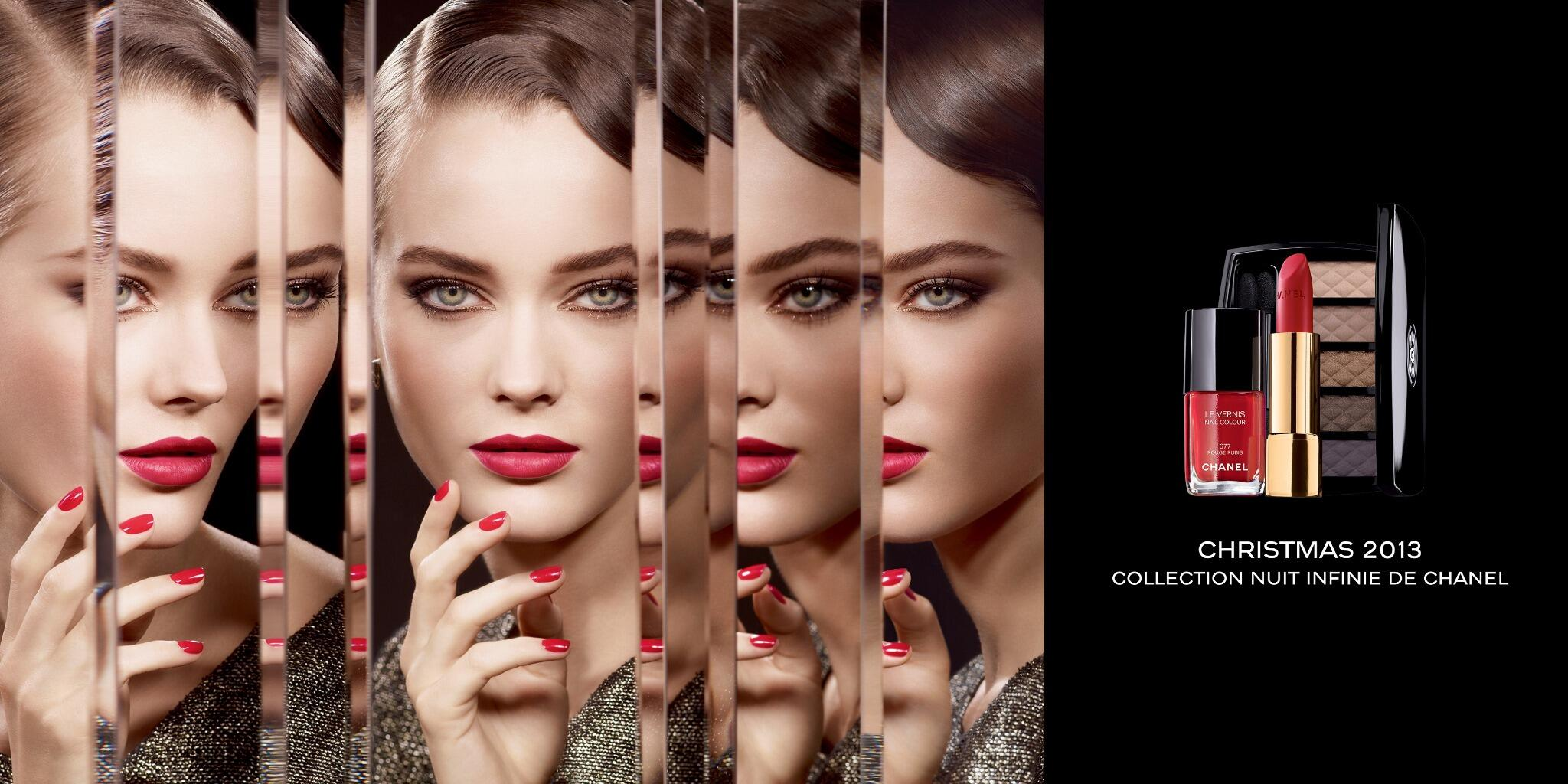 Charming, mysterious or seductive? The new Christmas makeup collection Nuit Infinie de CHANEL, for an endless evening http://t.co/eaaxec70Y3