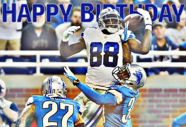 RT @NFLONFOX: Happy 25th birthday to @DallasCowboys WR @DezBryant! http://t.co/BvjzjUwIp6