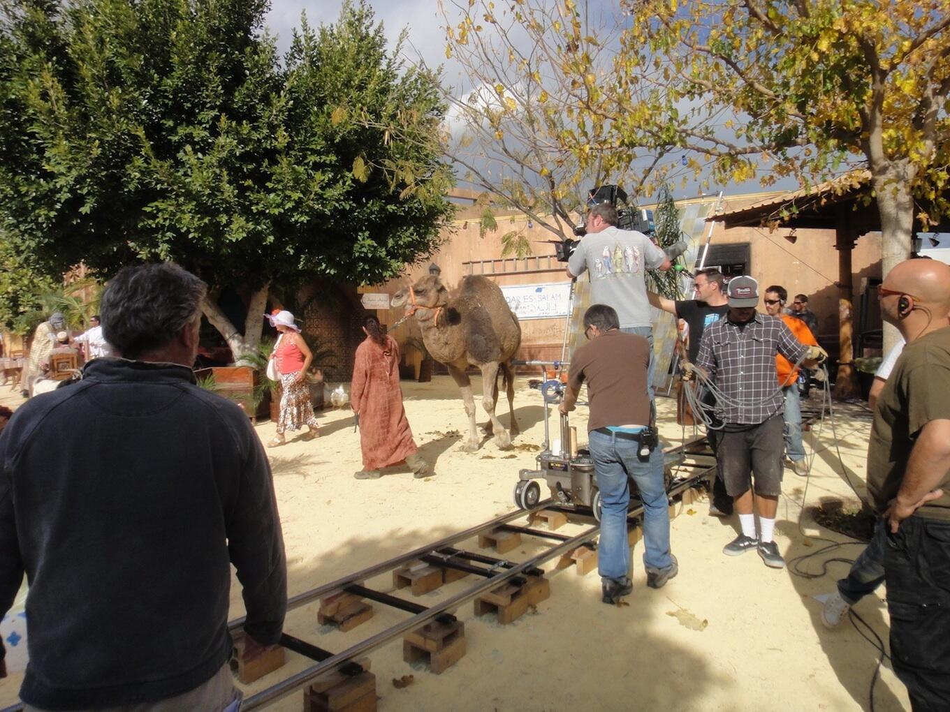#BenidormPicOfTheDay One of our more surreal filming days. Making Benidorm zoo Morocco! Complete with camel! http://t.co/6ktTlOYpmo