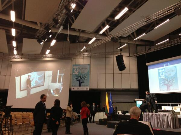 Love this photo from ICT 2013 #ICT2013eu @ict2013eu [pic] --