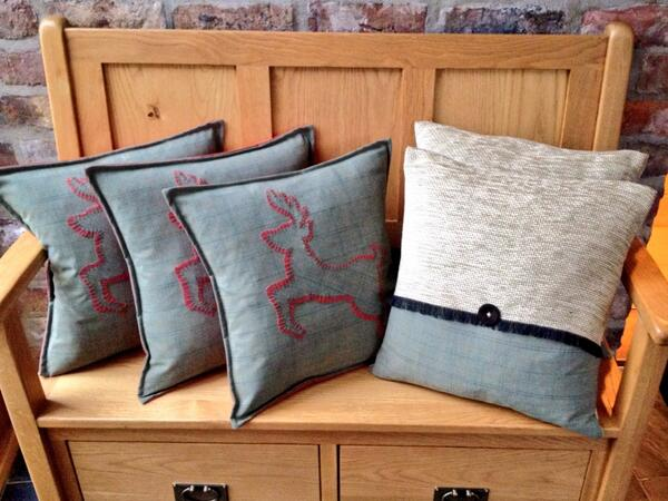 New collection of winter cushions now on sale @Drewtons . http://t.co/AtTu2Kb7yk
