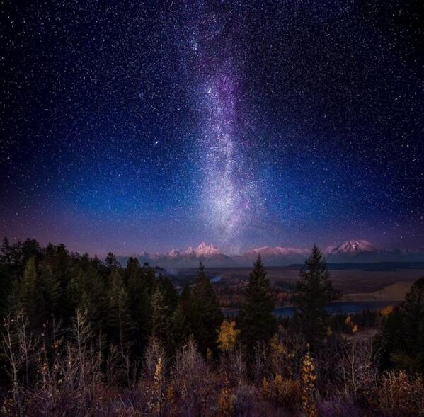 Photobucket (@photobucket): Milky Way Twilight by Photobucket user Tlj515  http://t.co/iTKfky80jF http://t.co/H7rsMA9bMk