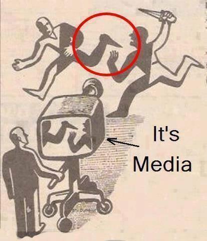 """기막히네요. RT """"@jinsunin1919: RT @congjee 절묘하네요 RT@jinsunin1919: 한번 더~~....한국의 언론보도 행태...이 한장의 그림으로 모두 설명 됩니다... http://t.co/l4eu0xVYxQ"""""""""""