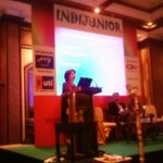 RT @rupeshkumarshah: Amazing @BhogleAnita speaking about winning ways. #INDIJUNIOR http://t.co/aDdaXm7qIg