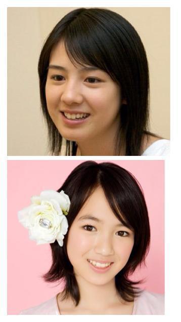 (上)桜庭ななみ女優。演劇・音楽グループbump.yのメンバー。ミスマガジン2008グランプリ。代表作『サマーウォーズ』