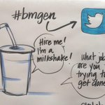 Hire me, I'm a milkshake RT @gisellechow: Taken in context, it does make a lot of sense. #bmgen