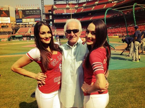 Because it's Friday and we're shutting down in a month, here's a picture of Bob Uecker in his natural habitat. http://t.co/zPDR4HmsjN