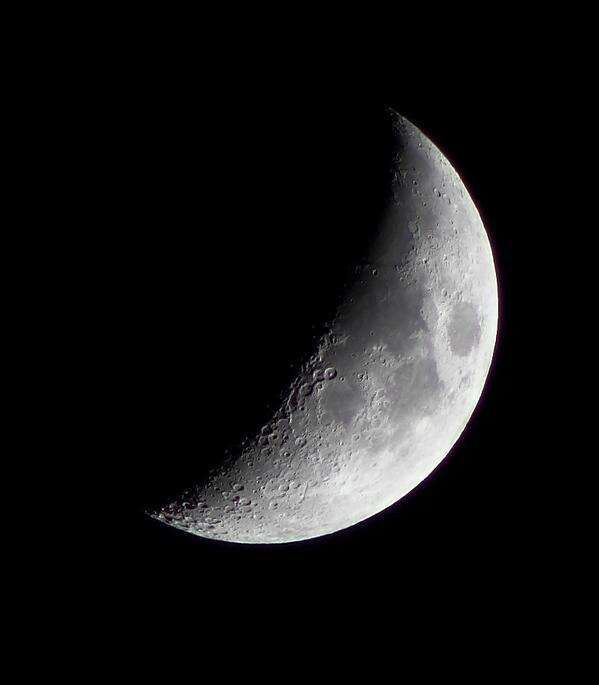 RT @adleon7: La Luna desde Cabo San Lucas, Baja California Sur http://t.co/E132QFcLBY