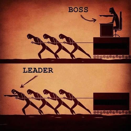Boss vs Leader http://t.co/fJcIHJfx7p