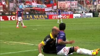 WTF! An Argentinian goalie does a Luis Suarez and bites an opponent in his back