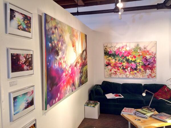 My studio is now OPEN for the rest of today! Come visit if you're in Dallas! http://t.co/31XQBDKJIT