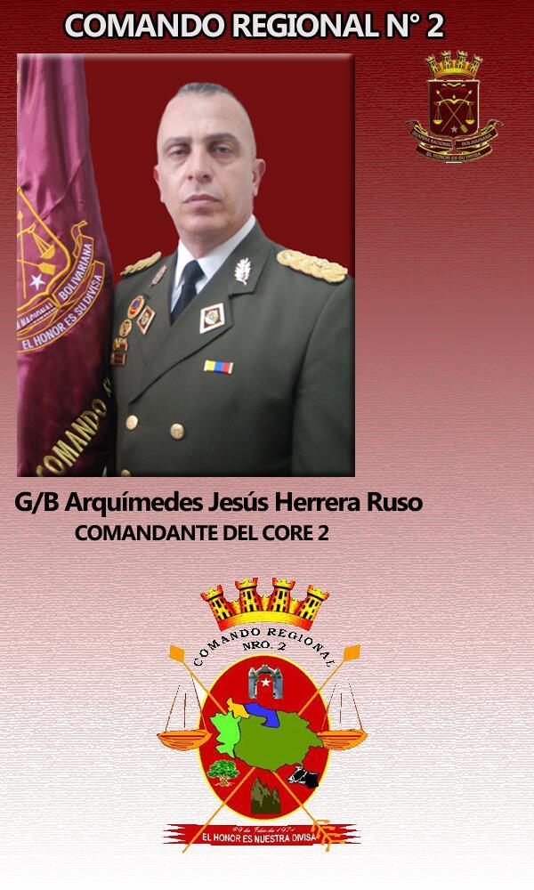 @core2gnb_2012 Es GB ARQUIMEDES JESUS HERRERA RUSO Comandante CORE 2 quien ordeno a la GNB saquear DAKA... RECONOCELO http://t.co/OA0SigrTU0