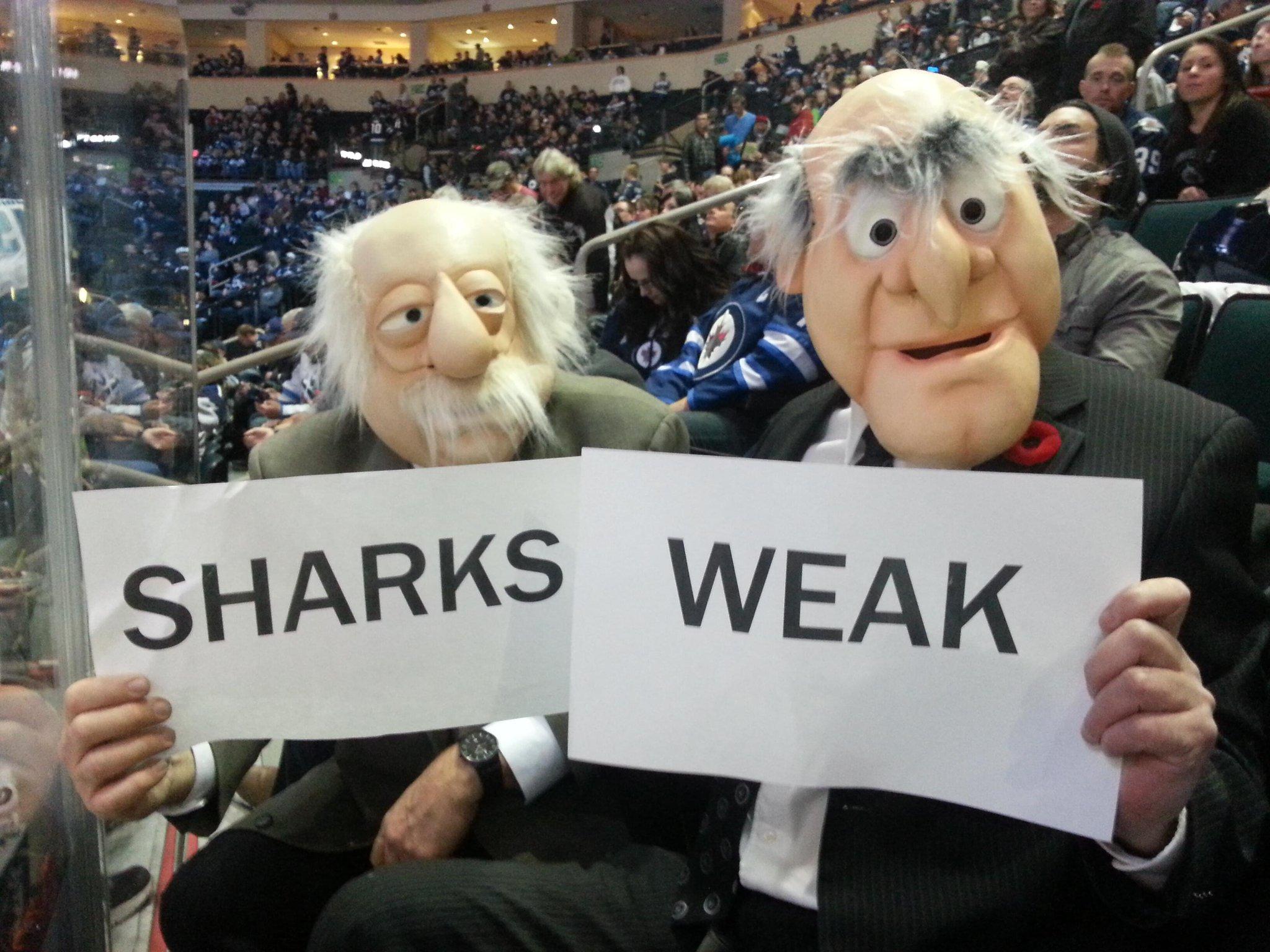 "RT @StatsandWaldorf: @dmazur20 RT @ValParker7: @StatsandWaldorf say: ""Sharks Weak!"" RT and get the word out. #GoJetsGo http://t.co/kQ31UdeLnv"